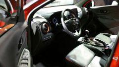 Hyundai Kona: l'abitacolo