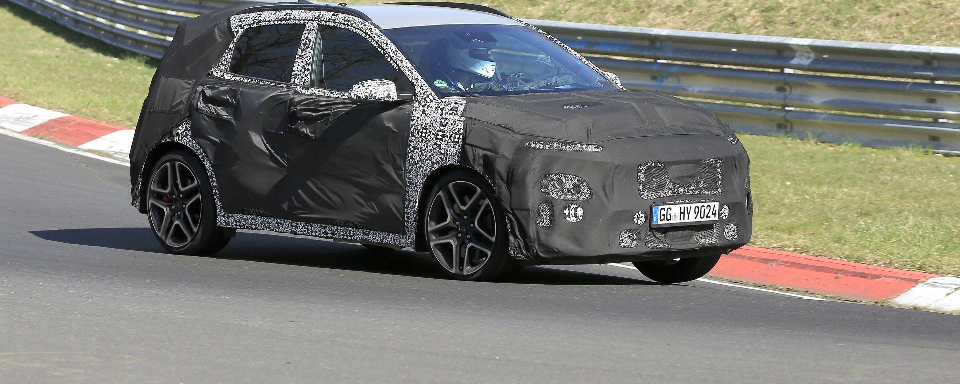 Nuova Hyundai Kona N: il crossover coreano mostra i muscoli