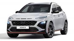 Hyundai Kona N 2021, visuale di 3/4 anteriore