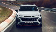 Hyundai Kona N 2021, visuale frontale