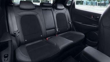 Hyundai Kona N, i sedili posteriori