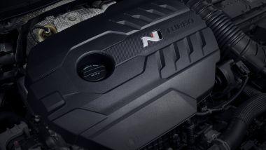 Hyundai Kona N, il motore