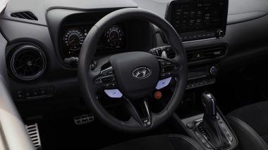 Hyundai Kona N, il volante