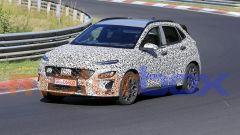 Hyundai Kona N, le nostre foto spia dal Nurburgring