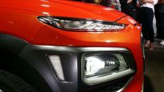 Hyundai Kona: profilo del cofano