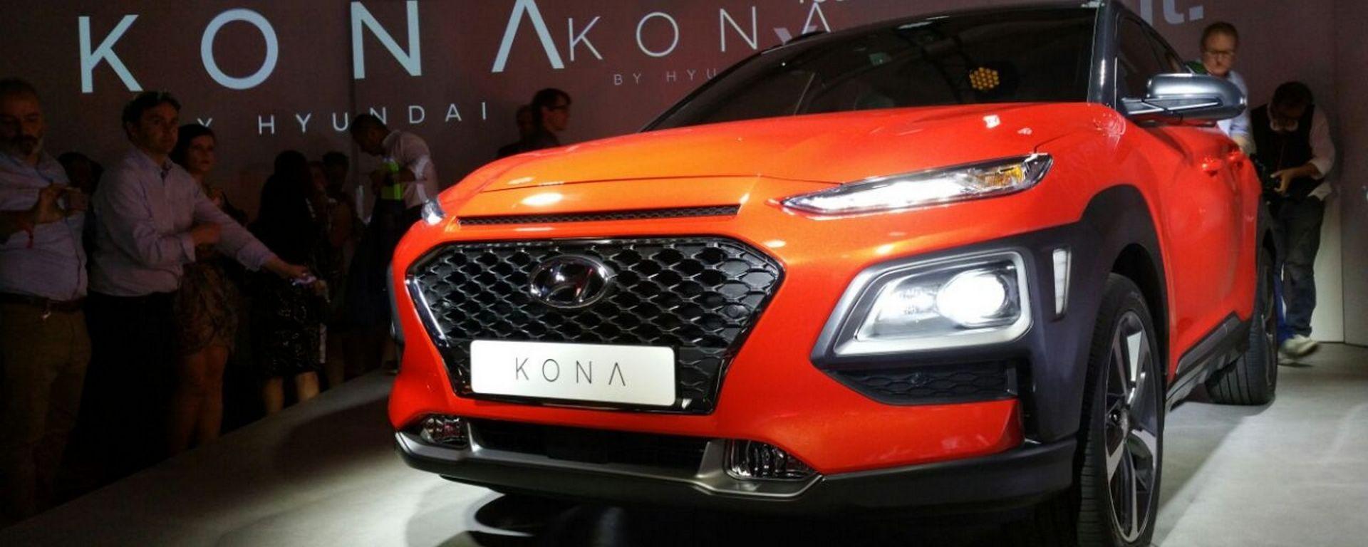 Hyundai Kona: svelata in anteprima nazionale