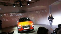 Hyundai Kona: un momento della cerimonia di presentazione