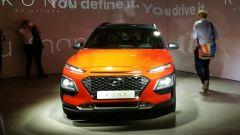 Hyundai Kona: vista anteriore