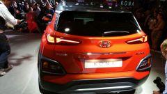 Hyundai Kona: vista posteriore