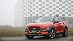 Hyundai Kona - visuale anteriore