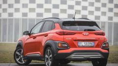 Hyundai Kona - visuale posteriore