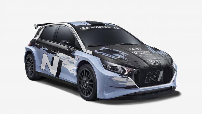 Hyundai, la nuova i20 N Rally2 | Vista 3/4 anteriore