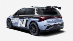 Hyundai, la nuova i20 N Rally2 | Vista 3/4 posteriore