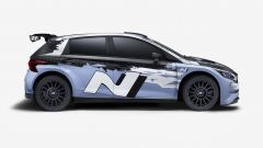 Hyundai, la nuova i20 N Rally2 | Vista laterale