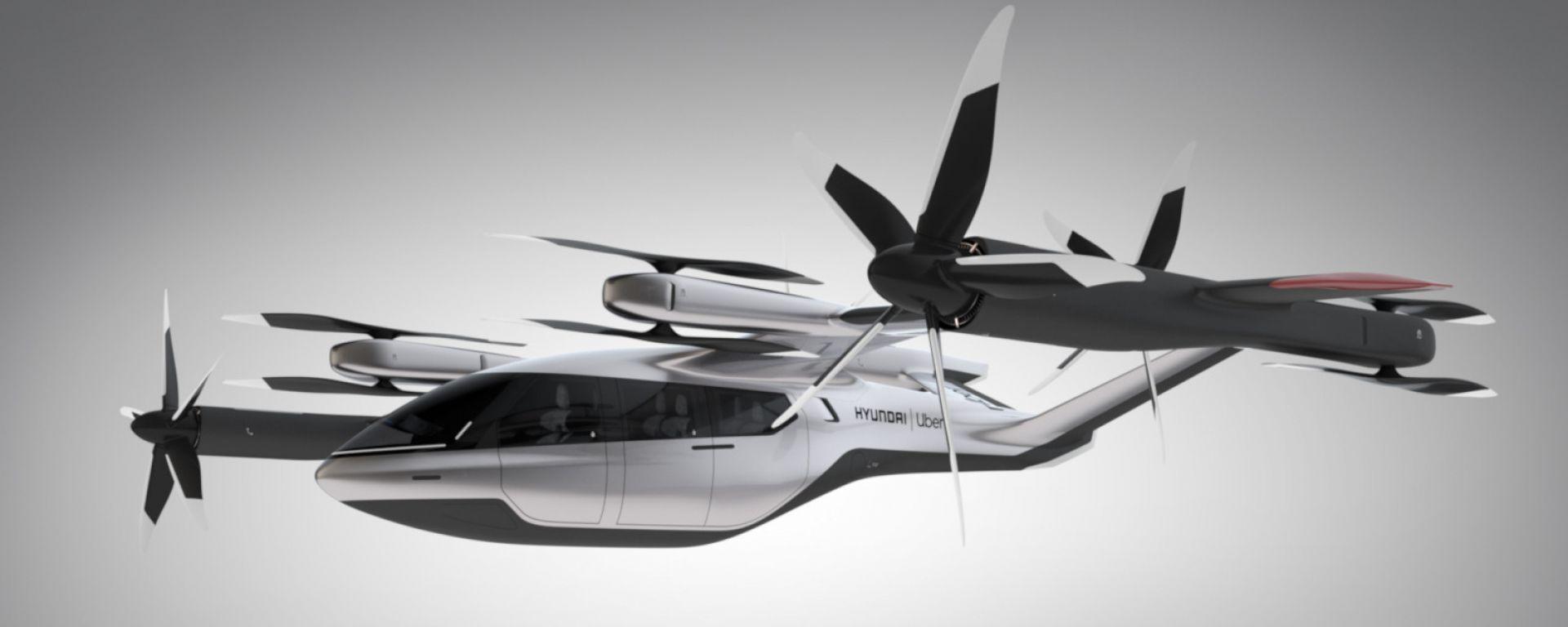 Hyundai: l'auto volante in partnership con Uber presentata al CES 2020