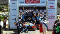 Hyundai motorsport - podio Tour de Corse