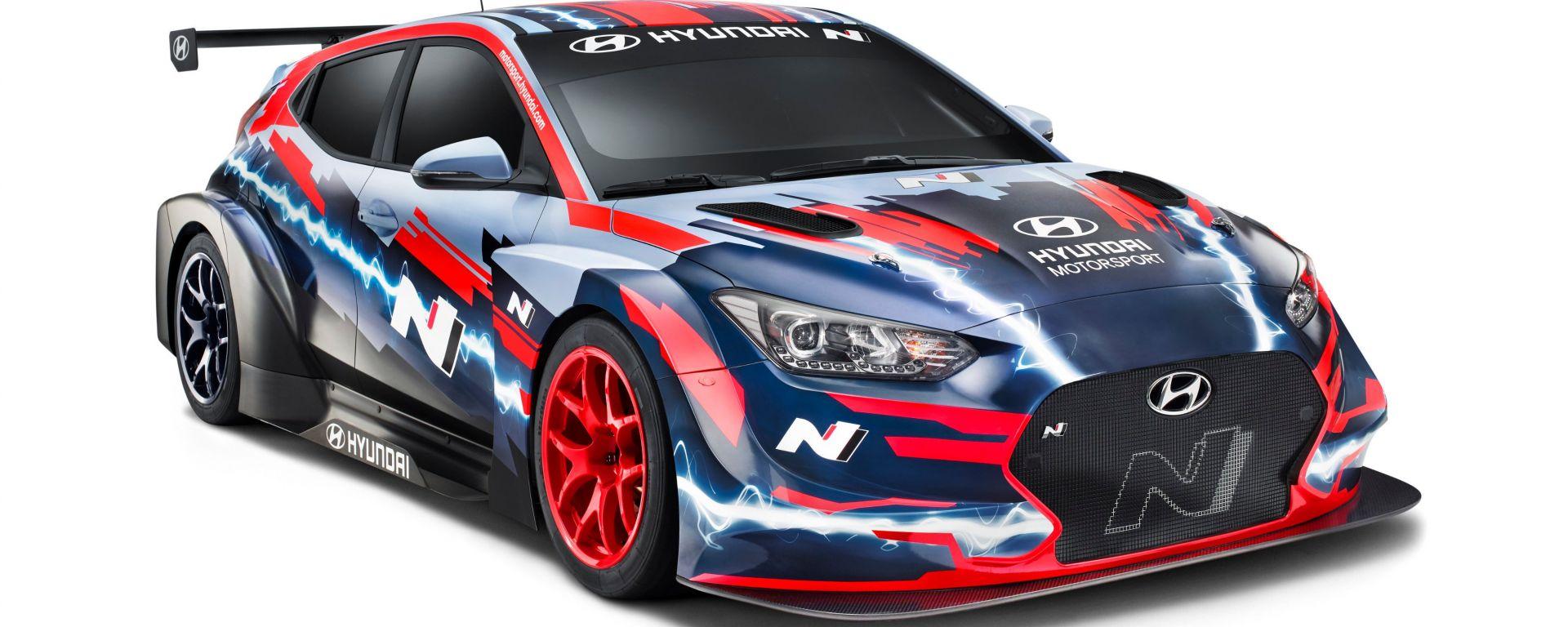 Hyundai Motorsport, presentata a Francoforte la nuova Veloster N TCR elettrica per l'ETCR