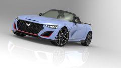 Hyundai N Roadster, dettaglio del frontale