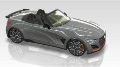 Hyundai N Roadster, un'altra vista che denuncia l'ispirazione Honda S2000