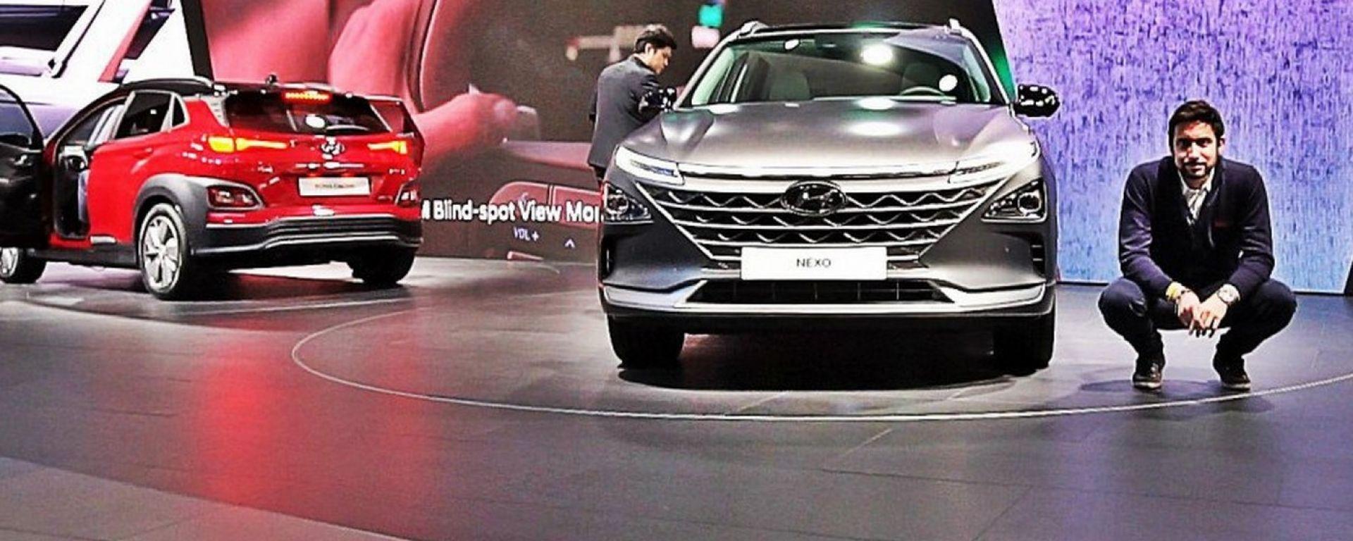 Hyundai Nexo a Ginevra 2018