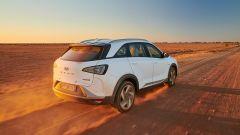 Hyundai Nexo: il posteriore