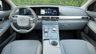 Hyundai Nexo: interni