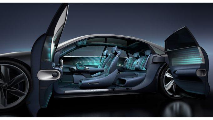 Hyundai Prophecy: gli interni