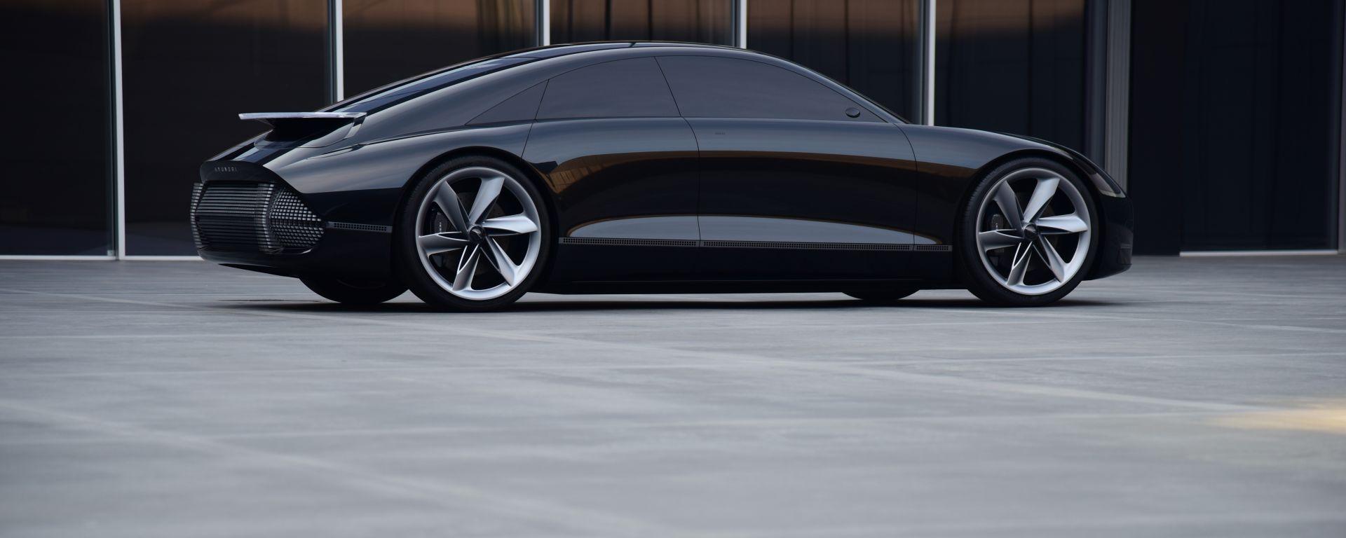 Hyundai Prophecy Concept EV: la sportiva elettrica della casa coreana