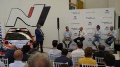 Hyundai Rally Team Italia conferenza stampa