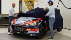 Hyundai Rally Team Italia presentazione vettura Hyundai i20 R5
