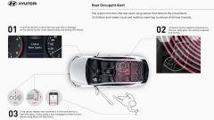 Hyundai Rear Occupant Alert: come funziona il sistema di sicurezza per bambini in auto