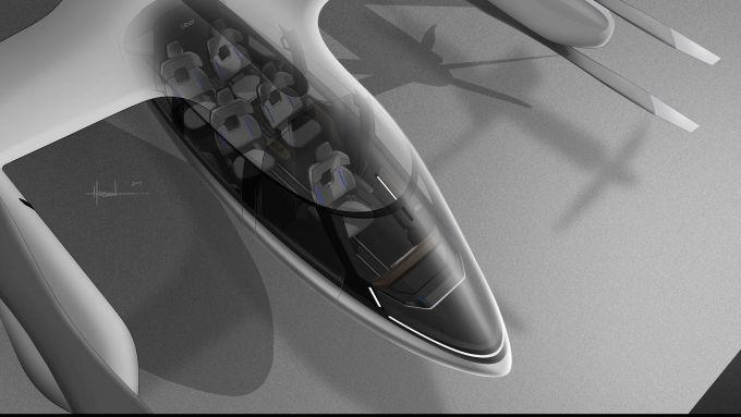 Hyundai S-A1: un autovelivolo 5 posti