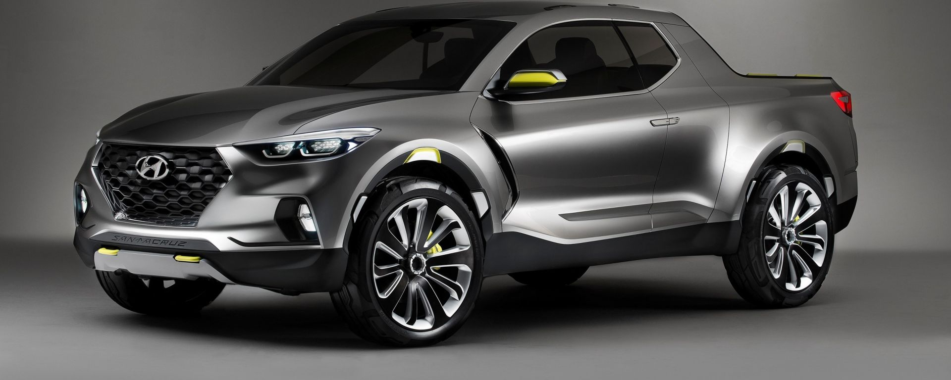 Hyundai Santa Cruz concept: 3/4 anteriore