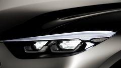 Hyundai Santa Cruz concept: dettaglio del gruppo ottico anteriore