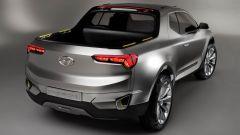 Hyundai Santa Cruz concept: vista 3/4 posteriore