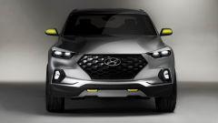 Hyundai Santa Cruz concept: vista frontale