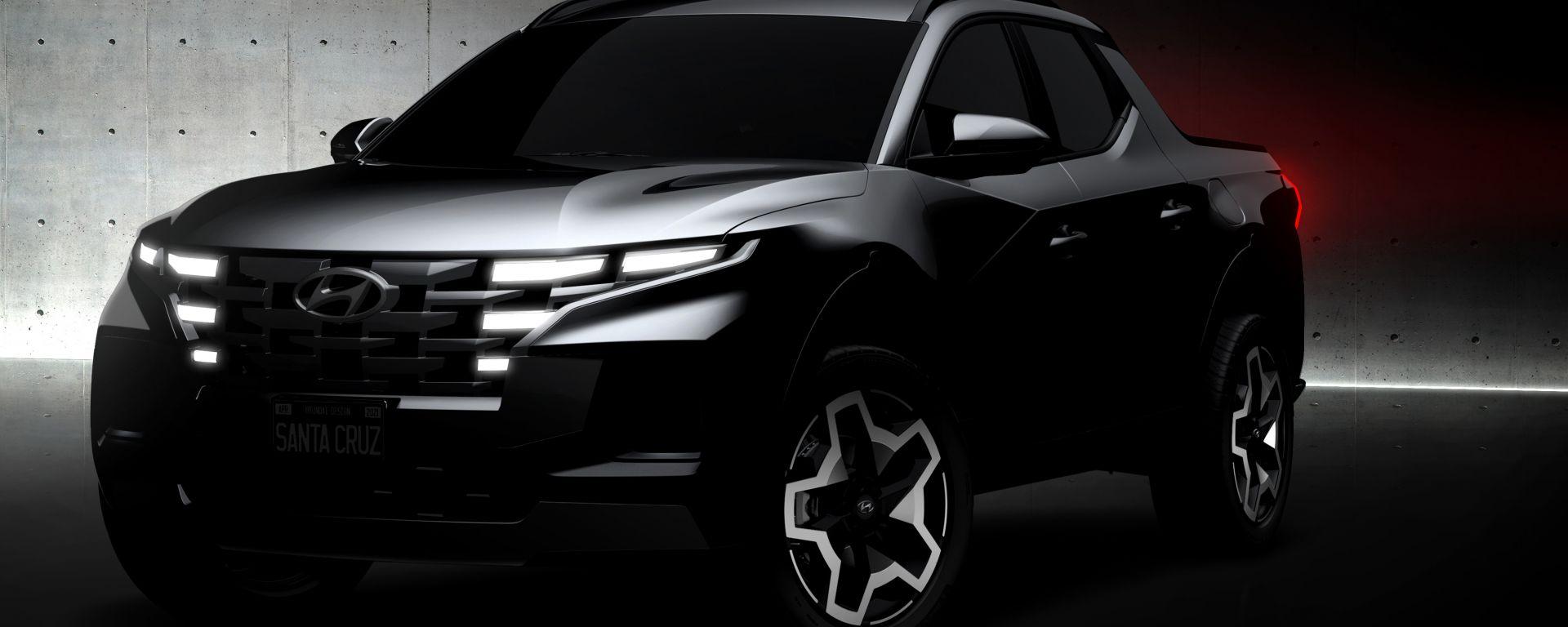 Hyundai Santa Cruz: notate qualche somiglianza?