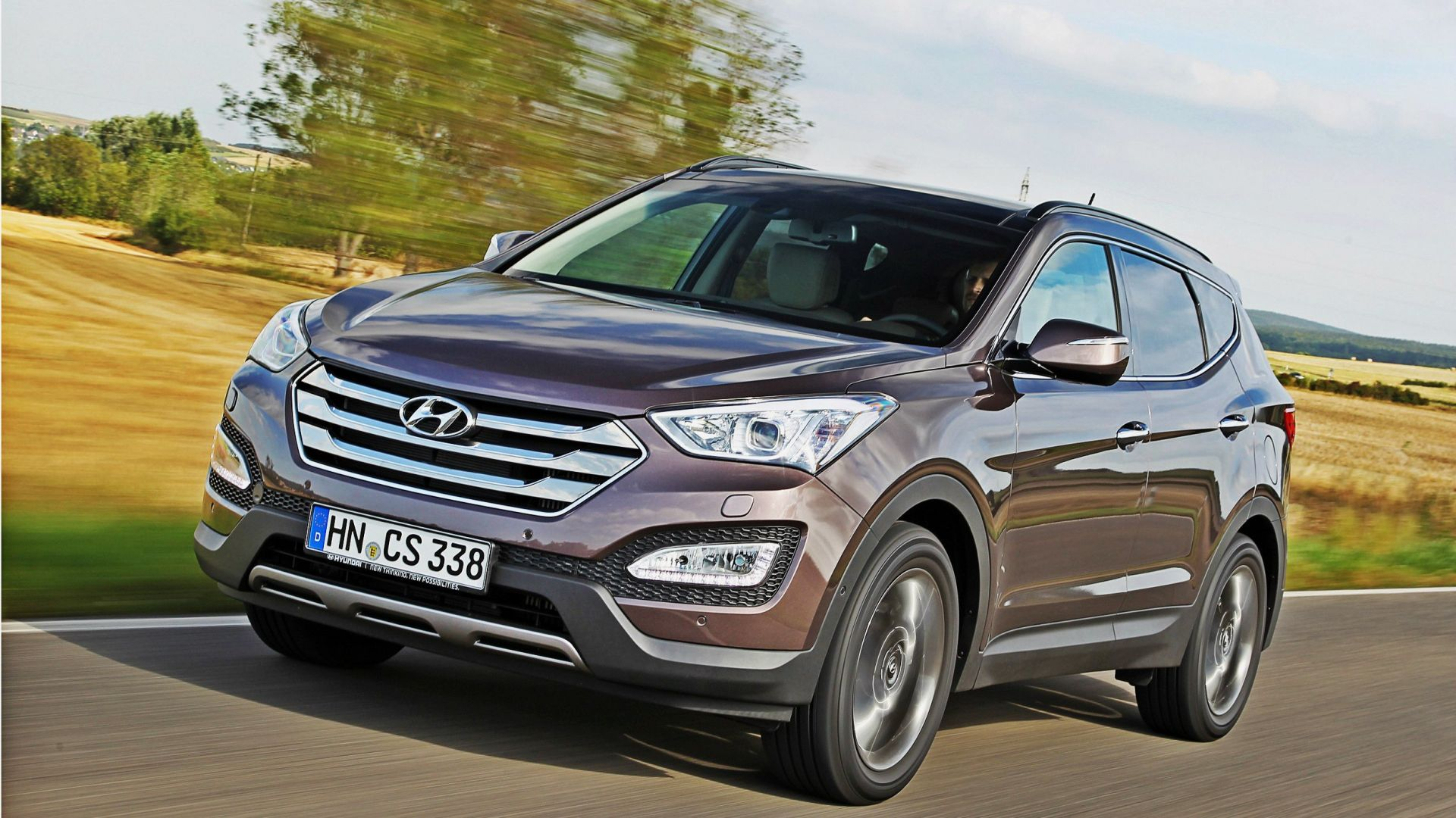test drive hyundai santa fe 2 2 crdi 4wd style motorbox. Black Bedroom Furniture Sets. Home Design Ideas