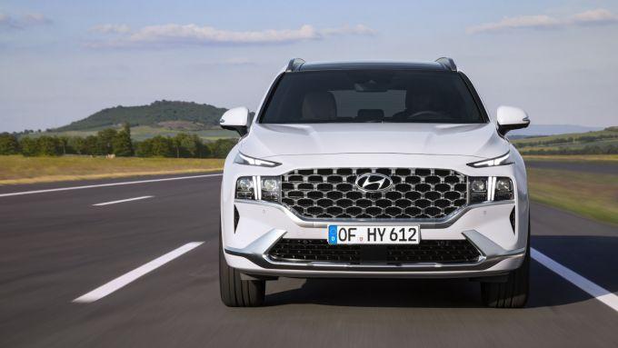 Hyundai Santa Fe 2020: che frontale!