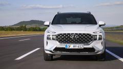 Hyundai Santa Fe 2020, il frontale