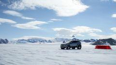 Hyundai Santa Fe in Antartide: durante il viaggio l'equipaggio ha dormito in tenda