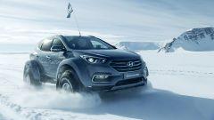 Con la Hyundai Santa Fe attraverso l'Antartide [video] - Immagine: 1