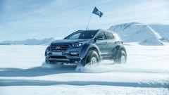 Hyundai Santa Fe in Antartide: il suv ha percorso 5.800 km