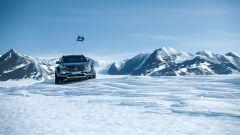 Hyundai Santa Fe in Antartide: la velocità media è stata di 27 km/h
