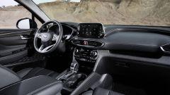 Hyundai Santa Fe, la plancia