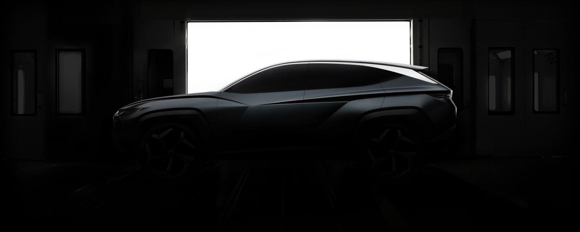 Hyundai SUV Concept: visuale laterale