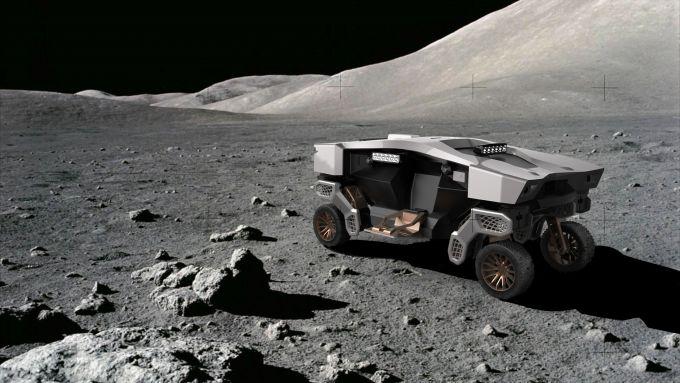 Hyundai TIGER sulla Luna
