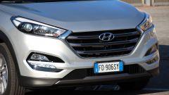 Hyundai Tucson 1.7 CRDi 141 cv 7DCT Xpossible, i gruppi ottici anteriori