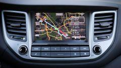 Hyundai Tucson 1.7 CRDi 141 cv 7DCT Xpossible, le mappe del navigatore sono aggiornate gratis a vita