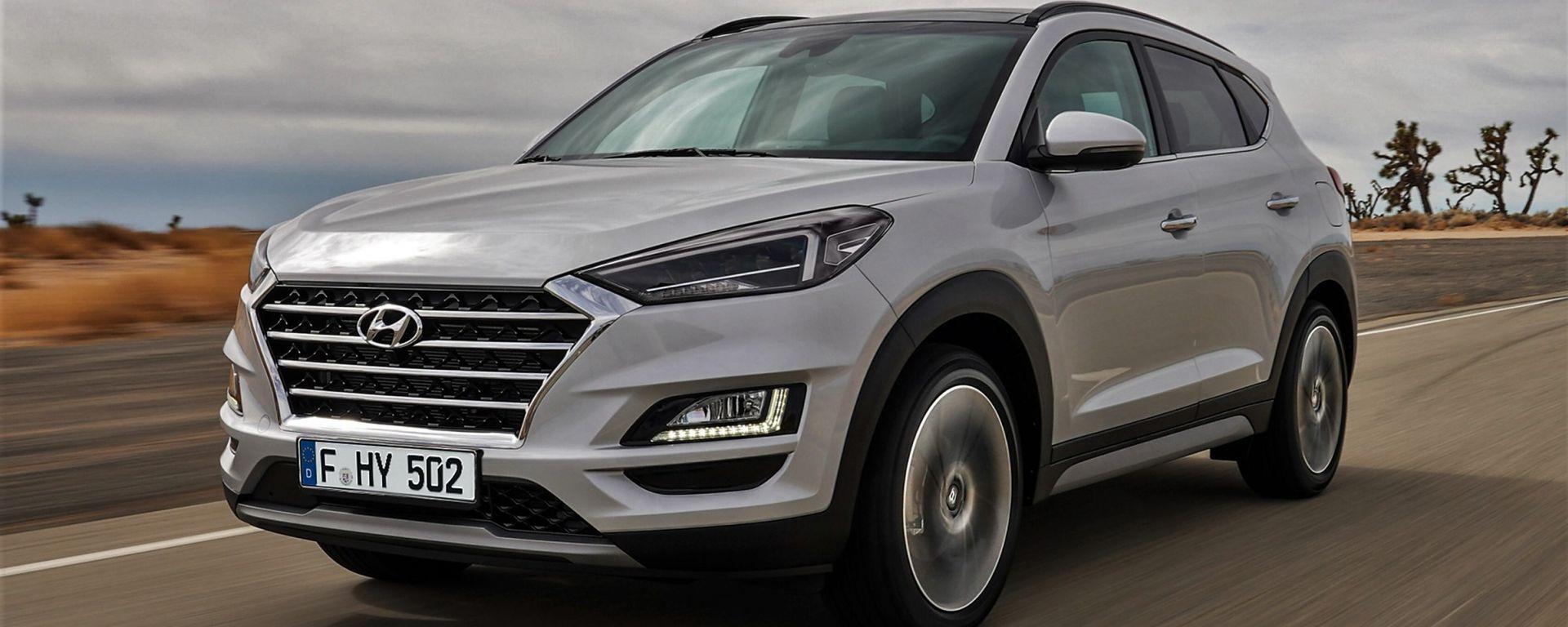 Hyundai Tucson 2018: il restyling è anche mild hybrid